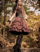 A little bit of steampunk lolita...