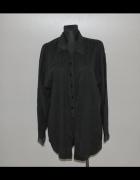 Czarna długa koszula