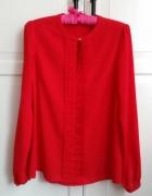 Bluzka koszula czerwona Mohito