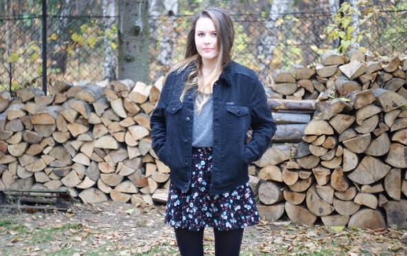 Blogerek denim jacket h&m