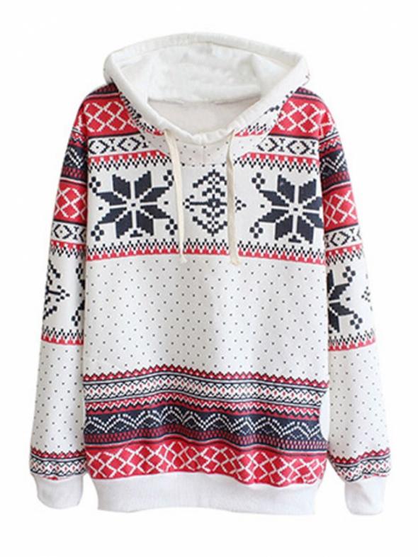Bluza w świąteczne wzory