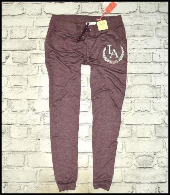 nowe spodnie PRIMARK dresowe r 42 44 alladynki
