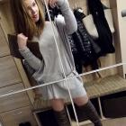 Oversizowy sweterek