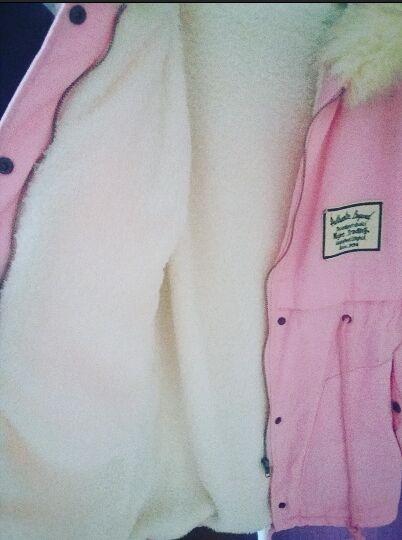 Parka sheinside pink różowa S