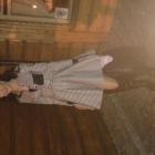 Boska sukienka kratka i muszkieterki
