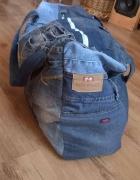 Torba jeans upcykling