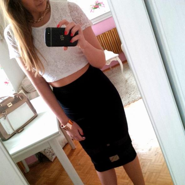 Mój styl Bandażowa spódnica