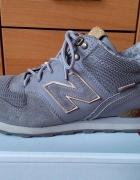 New Balance szaro złote WH996UG