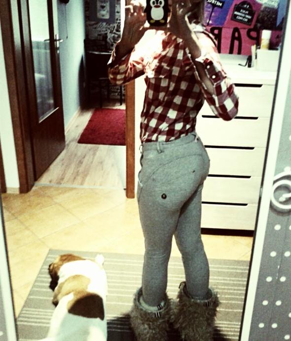 Mój styl legginsy push up