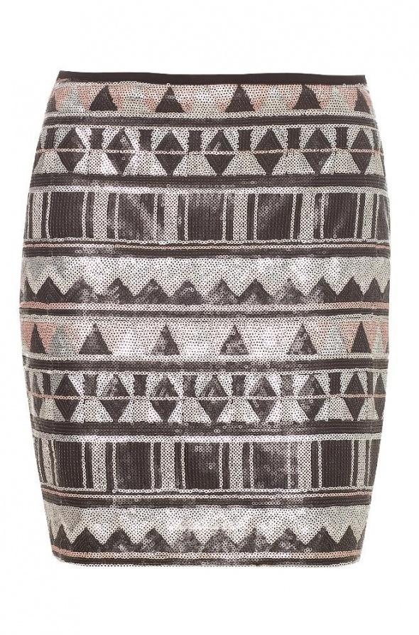 Spódnice Orsay cekinowa cekiny spódniczka 40 L