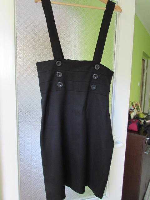 Spódnice spódnica ołówkowa czarna 44