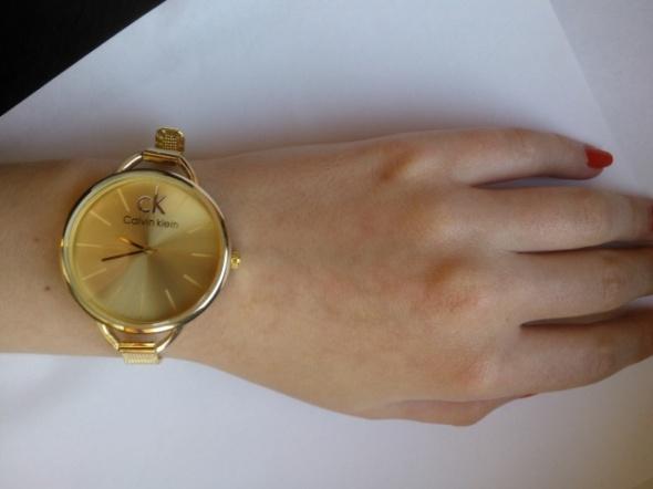 Zegarki ZŁOTY ZEGAREK DAMSKI CALVIN KLEIN