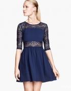 Sukienka wyciecia koronka H&M