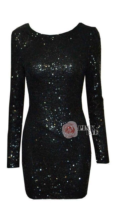 Ubrania Sukienka cekiny XS
