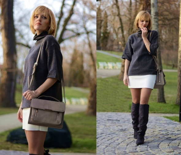Blogerek Skórzana handmade