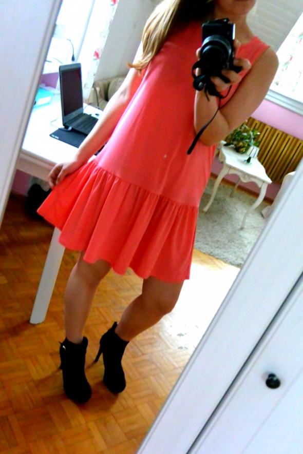 Codzienne Sukienka z falbaną
