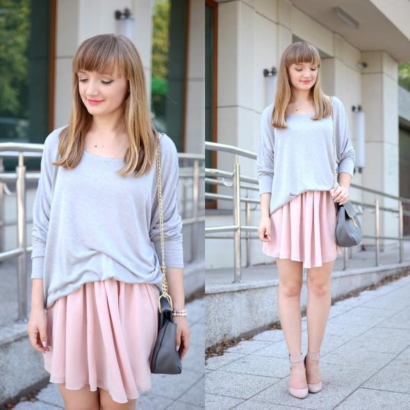 Blogerek Zwiewna spódnica