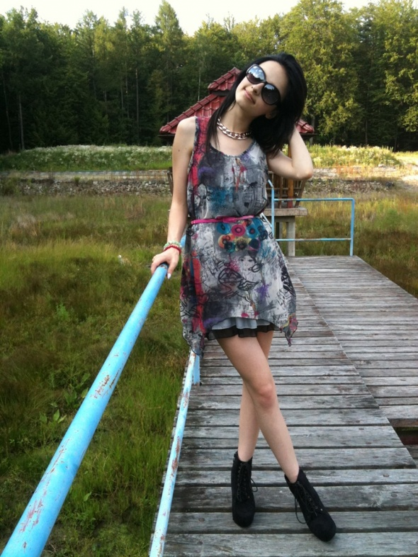 Blogerek Hippie style