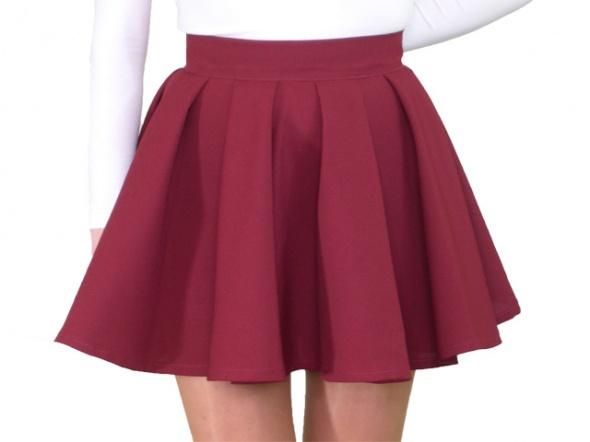 Spódnice Dwie spódniczki z koła rozmiar XXS