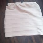 Bandażowa spódniczka pudrowy róż New Look S
