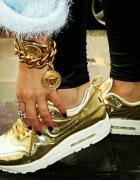 Nike gold...