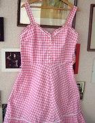 Sukienka w kratkę 42 44 XL XXL sliczna