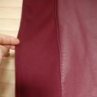spódnica ołówkowa skórkowa wstawka