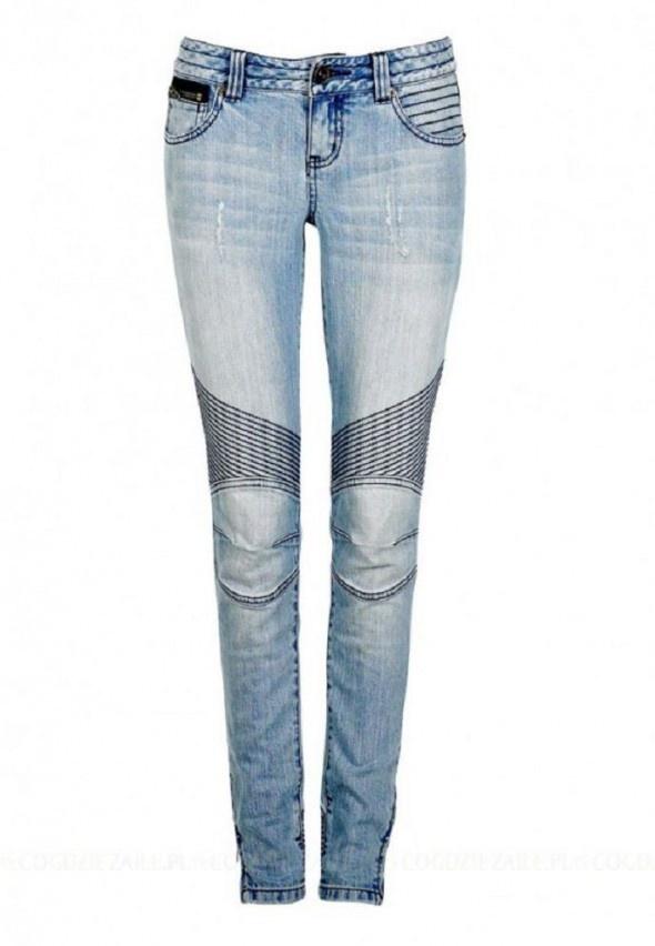 Ubrania Rurki jeansy cubus przeszycia
