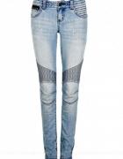 Rurki jeansy cubus przeszycia...