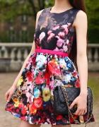 Floral Splash Dress...