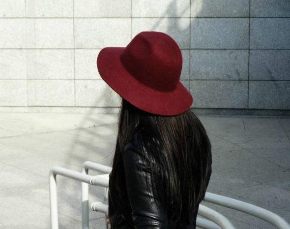 Mój styl MAROON HAT