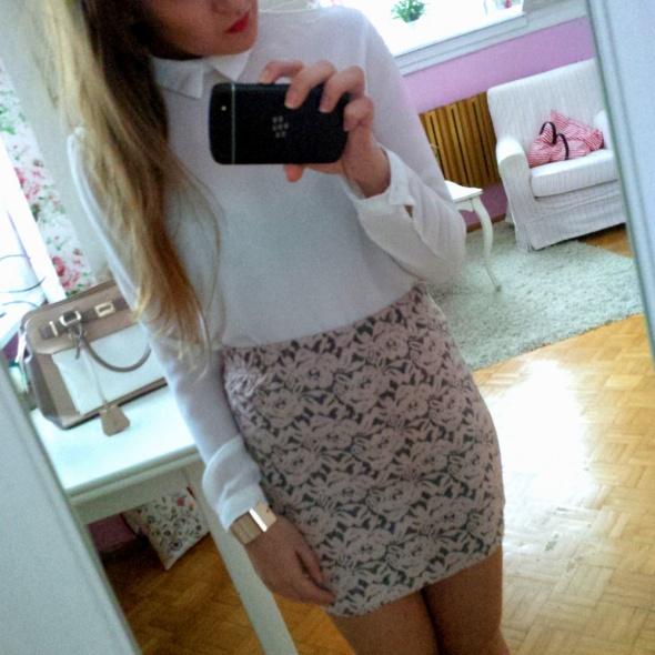 Mój styl Koronka i biel