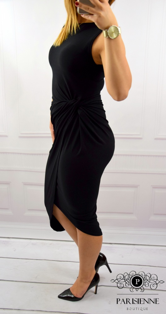 Eleganckie BLACK DRESS