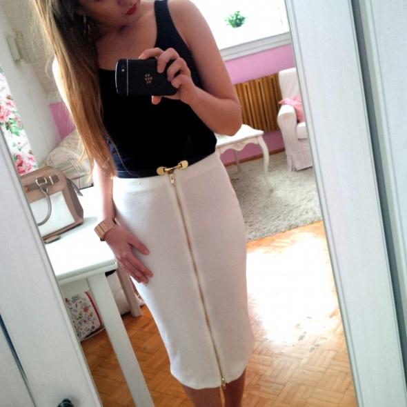 Mój styl zip skirt