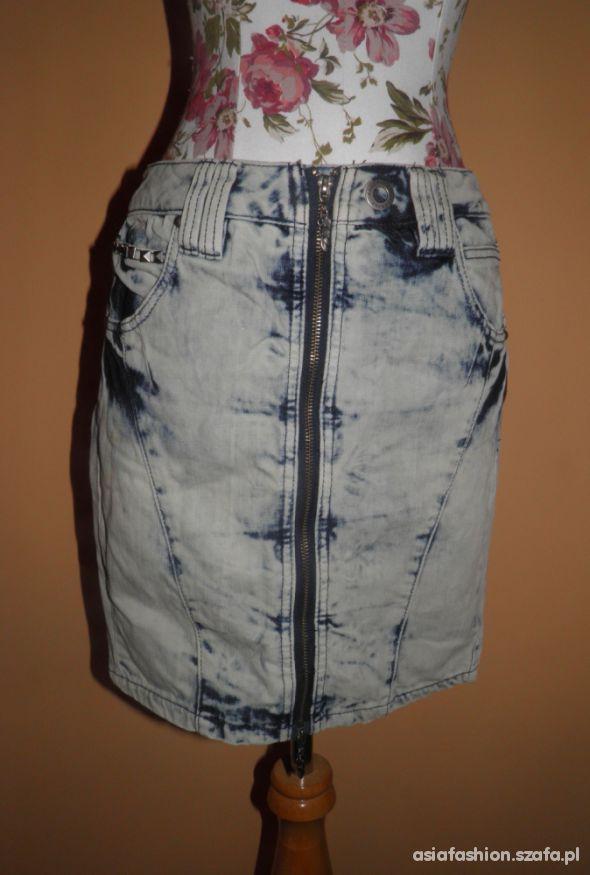 marmurkowa spódniczka mini reserved 36 S