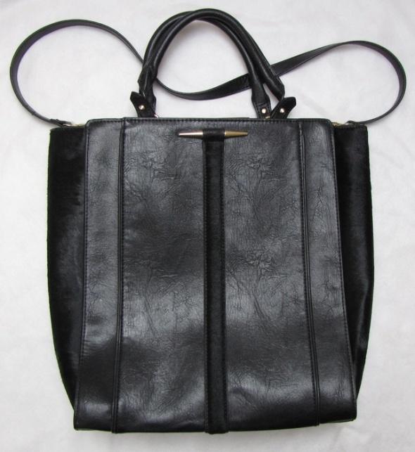 ZARA czarna torba