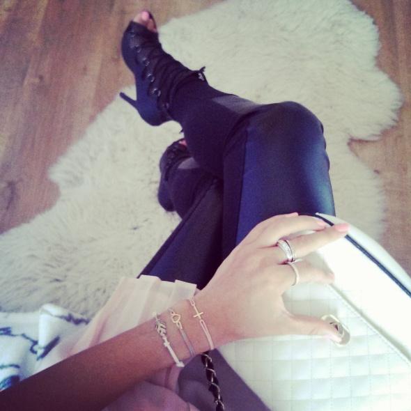 Codzienne Kocham buty na obcasie