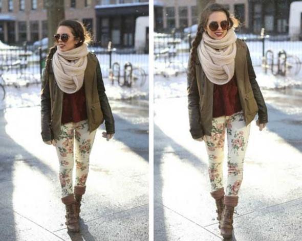 Wasze inspiracje kwietowe spodnie