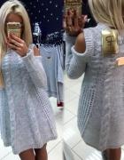 sweterkowa sukienka