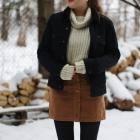 spódnica i sweter