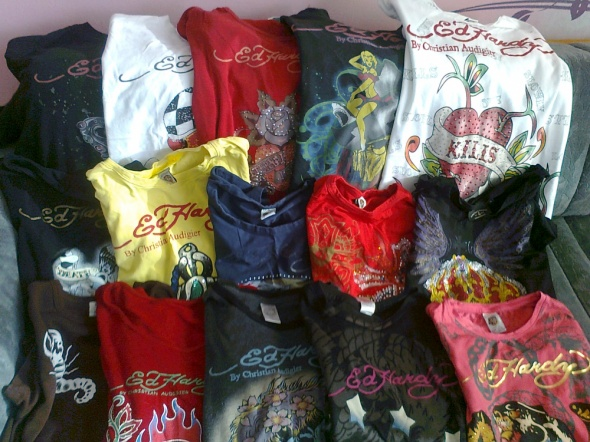 My Ed Hardy collection 2