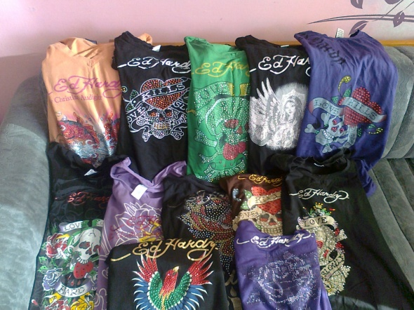 My Ed Hardy collection 3