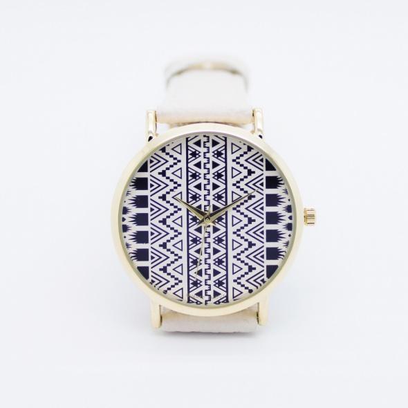 Zegarek azteckie wzory