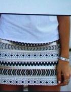 Spódnica wzory azteckie etniczne...