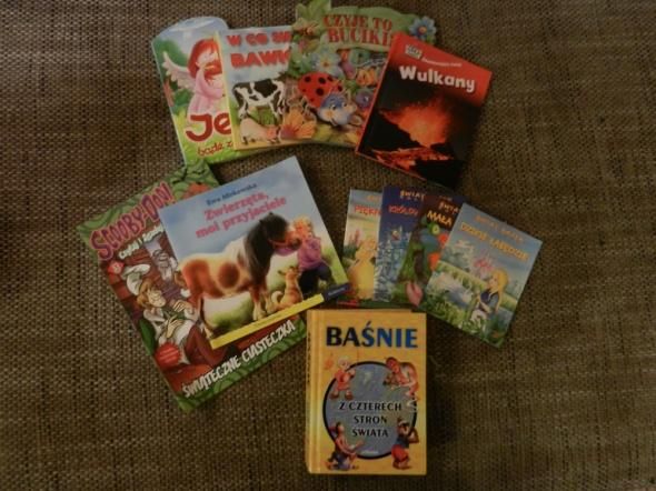 Zabawki Zestaw książeczek dla dziecka