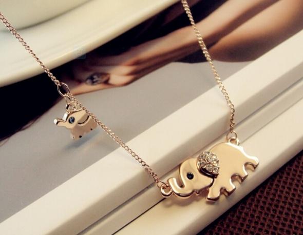 Złoty słonik