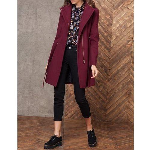 Ubrania Płaszcz bordowy