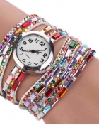 Zegarek Bransoletka Biały