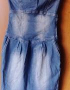Sukienka jeansowa rozm S