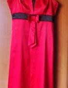 czerwona sukienka rozm m